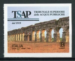 Italy Architecture Stamps 2019 MNH Claudio Aquaduct TSAP 1v S/A Set