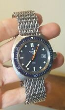 RARE WRISTWATCH DIVER DIVING AQUASTAR Atoll 1001 Automatic Swiss Stainless
