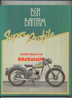 BSA Bantam Super Profile D1 D3 D5 D7 D10 D14/4 D175 Haynes Bushman Trials BX15