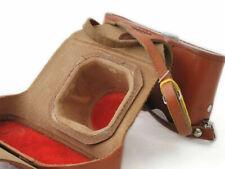 #Fed#natural_leather_case _for_Soviet_Rangefinder_ca mera#Fed_3,4,5,5B,brown