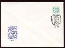 "Estonia 1992 ""I"" State Arms Definitive FDC #C11935"