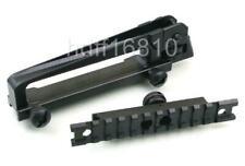 New Carry Detachable W/ Dual Apertures Rear Sight + Picatinny Weaver Rail