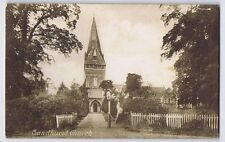 SANDHURST Berkshire, St Michael's Church, Postally Used Postcard 1919