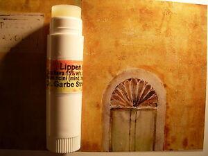 Bienenwachs-Moschus Lippenpflegestift: trockene raue rissige Lippen  glossy
