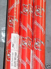 "NFL ""Tampa Bay Buccaneers"" Wrapping Paper (4 rolls) NEW"
