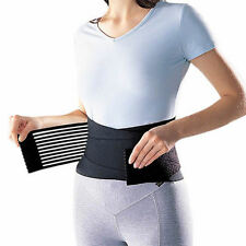 Deluxe Double Pull Lumbar Lower Back Waist Support Brace Posture JJ Brand