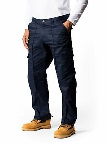 """Work wear Heavyweight Cargo Trousers. Sizes from 28"""" to 52"""" Waist & S/R/L Leg."""
