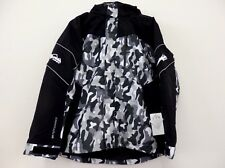 HMK Action 2 Jacket Multi-Layer Black White Gray Camouflage Snowmobile 3XL NWT