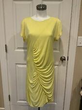 "Diane Von Furstenberg ""Meela"" Light Yellow Sheath Dress, Size 14, NWT!"