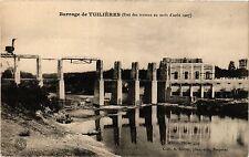 CPA  Barrage de Tuilliéres (Etat des travaux au mois d'aout 1907) (297365)