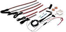 Custom Dynamics Stingerz red LED accent lighting kit Harley Suzuki Honda