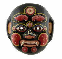 Maschera Nepalese Yenya Demon Majipa Lakhey Carta Mache Indra Jatra Nepal 4043