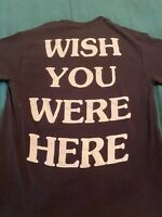 Travis Scott Astroworld Wish You Were Here Black Tee 100% Authentic