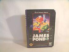 James Pond 3 - Sega Genesis Box Only!  *original Sega*