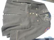 WW2 US Army 20th Div Lt. Officer Tunic Chocolate Chemical Warfare size 37R