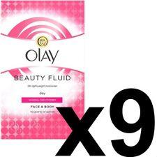 9 Olay Beauty Fluid Normal Dry Moisturiser Face Body NonGreasy ClassicCare 100ml