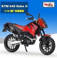 1:18 Maisto KTM DUKE 640 II Motorcycle Model Toy Red