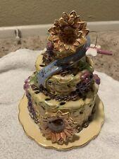 Autumn Birthday Cake Candle House - Clayworks Blue Sky 2006 Clayworks Blue Sky