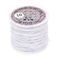 Cinta para cuerda de rollo Cinta elastica 1mm Blanco Longitud 22m O3S1