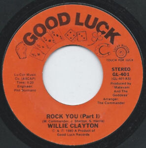 "Willie Clayton - Rock You (7"", Single)"