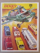 Dinky Toys Catalog No. 5 Die Cast England Dragster SpeedWheels