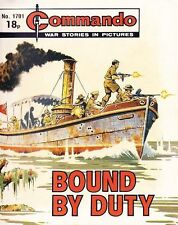 Commando For Action & Adventure Comic Book Magazine #1701 BOUND BY DUTY