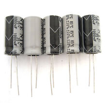 NTE 1000uF 35V Radial Electrolytic Capacitors: Small Size 5/Pack: Great Price