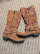 Women's Boots Olsenboye BOOTS SIZE 6 BROWN Great!