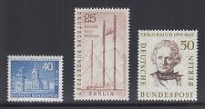 Berlin Sc 9N131/9N156 MNH. 1956-1959 issues, 3 different, fresh & VF