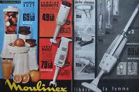 PUBLICITÉ DE PRESSE 1964 MOULINEX LIBÈRE LA FEMME ASPIRATEUR ROBOT - ADVERTISING