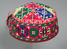 hand embroidered Women's Caps and Ceremonial Headdress Gilgit-Baltistan No:21/O