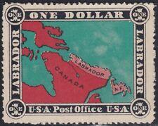 Newfoundland 1908 $1 Labrador USA Bogus Fantasy Cinderella Issue