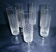 🎁 Rosenthal 6 Sektflöten Björn Wiinblad Romance Kristallglas Gläser Strohglas 2