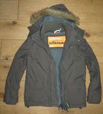 Superdry Professional The Windcheater Khaki Parka Coat Jacket Ladies Size S-M