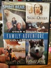 Family Adventure Collectors DVD Set: Spirit Bear, Sign of the Otter, White Fang