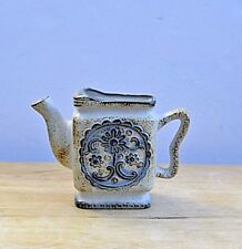 """Counterpoint Small Art Pottery Decorative Pitcher  5"""" high 7 inches long 2"""" wide"""