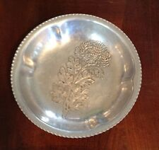Vintage Trade Continental Mark Hand Wrought Silverlook 783 Decorated Bowl 5.5""