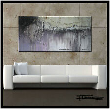 PAINTING ABSTRACT CANVAS WALL ART Large, Framed, Signed, US ELOISExxx