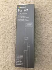 OEM Microsoft Surface Pro 2 3 Mini Display Port to HD AV Adapter Mod. #1553 New!