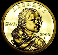 2000-S $1 Native American Dollar ohl GDC Proof Only 50 Cents for Shipping