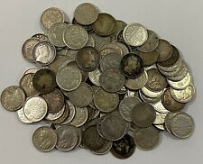 Canada 1872 - 1920 5 Cent Silver Collection Lot (120 pieces)