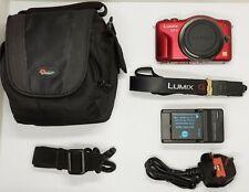 Panasonic LUMIX DMC-GF3 12.1MP Digital Camera - Red (Body Only) + LowePro bag