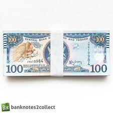 More details for trinidad & tobago: 20 x 100 trinidad & tobago dollar banknotes.