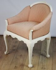 Antique Edwardian Tub Chair with Ball and Claw Feet - FREE Shipping [PL4143]