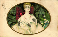 "Montedoro - Art Deco - ""Donnina"", Glamour Lady - Moda, Fashion - M008"