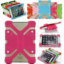 "US Universal Shockproof Silicone Cover Case Fr 7"" Android Tablet Samsung HP RCA"