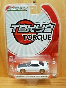 GREENLIGHT 1:64 ~ TOKYO TORQUE SERIES 5 ~ 2001 Nissan Skyline GT-R (BNR34)
