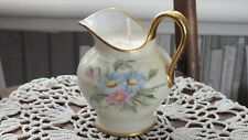 Vintage c1936 China Milk Jug Filled With Soy Wax Candle Bavaria Hand Painted