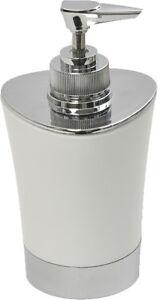 Evideco Soap dispenser Lotion pump dispenser Shiny Solid color with Chrome Parts