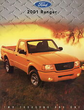 Ford Ranger Prospekt USA 2001 car brochure Pickup Auto PKWs Autoprospekt Amerika